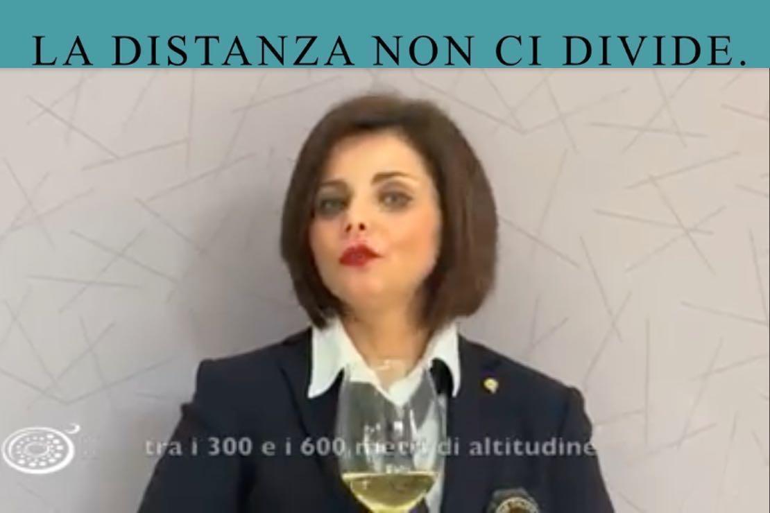#ladistanzanoncidivide. Il Fiano di Avellino con Nicoletta Gargiulo