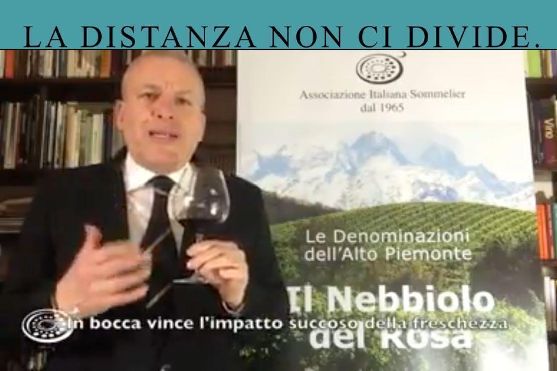 #ladistanzanoncidivide. Il nebbiolo dell'Alto Piemonte con Mauro Carosso