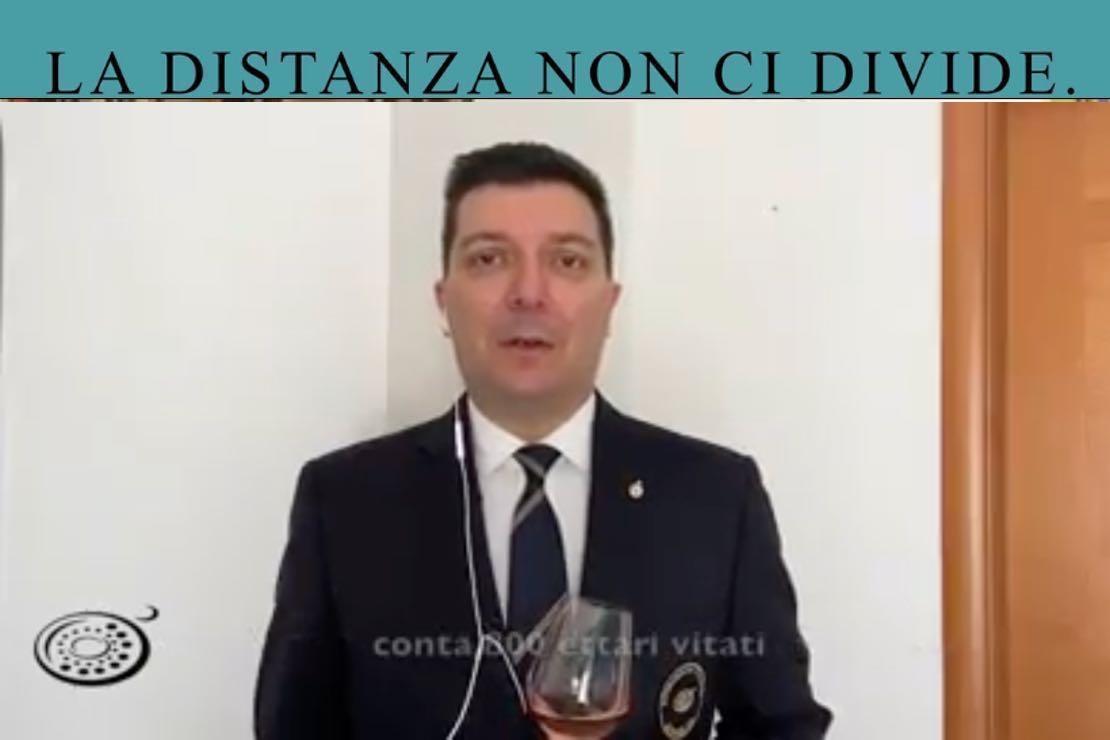 #ladistanzanoncidivide. Il Valtènesi con Nicola Bonera