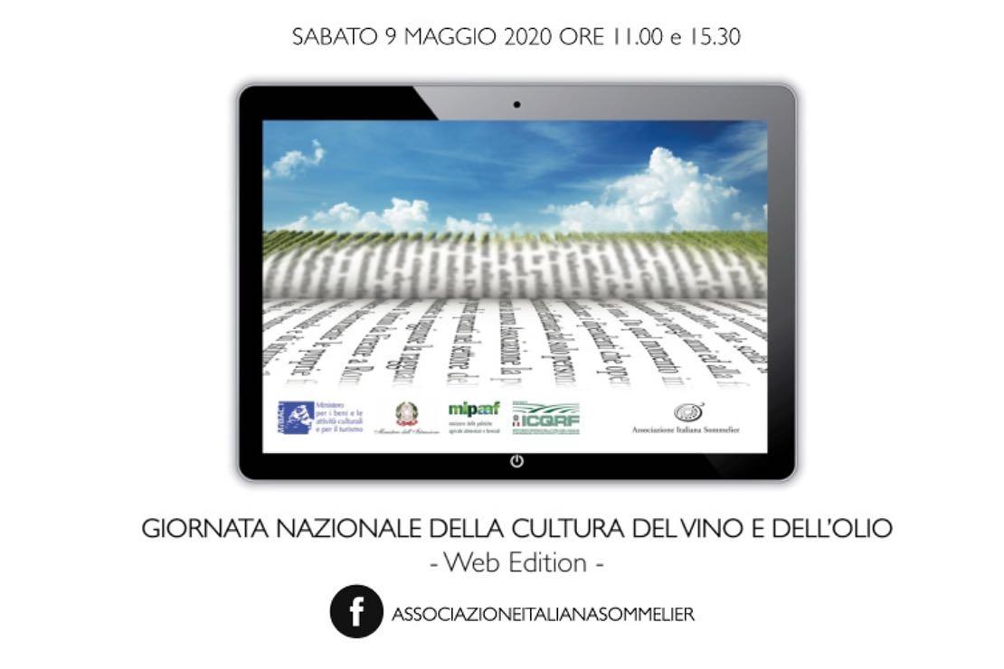 #ladistanzanoncidivide - Giornata Nazionale della Cultura del Vino 2020 Web Edition