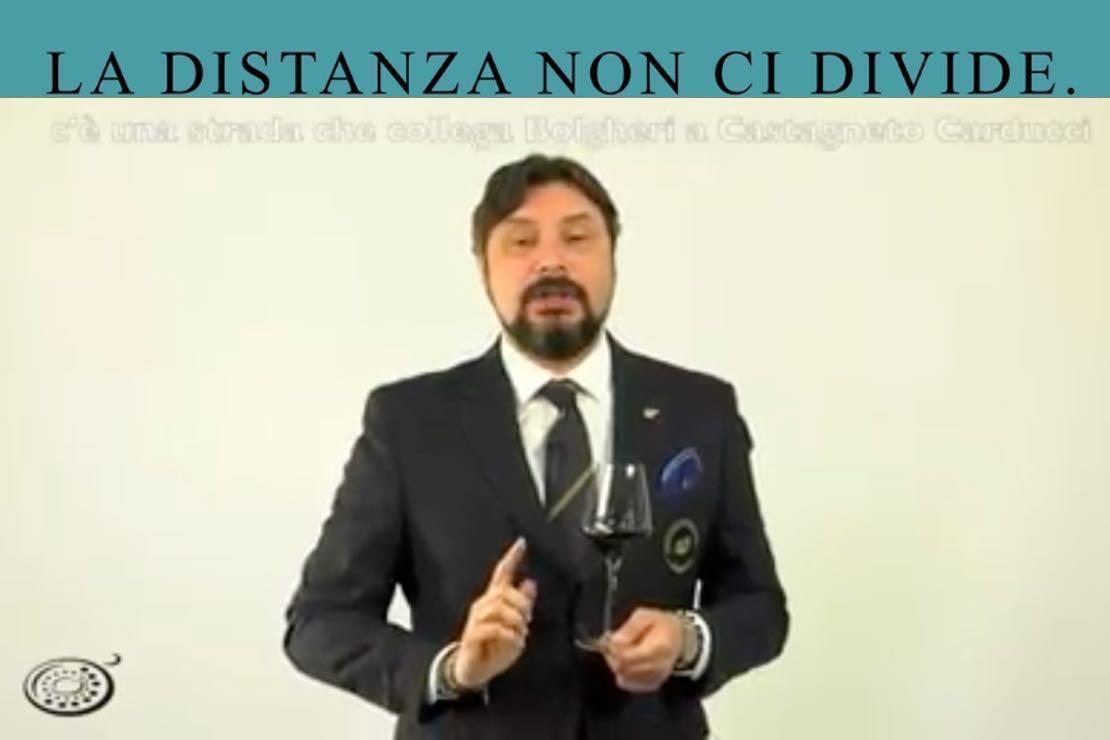 #ladistanzanoncidivide. I vini di Bolgheri con Cristiano Cini