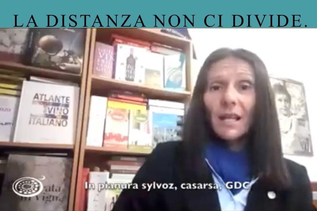 #ladistanzanoncidivide. Il Lambrusco di Sorbara con Maura Gigatti