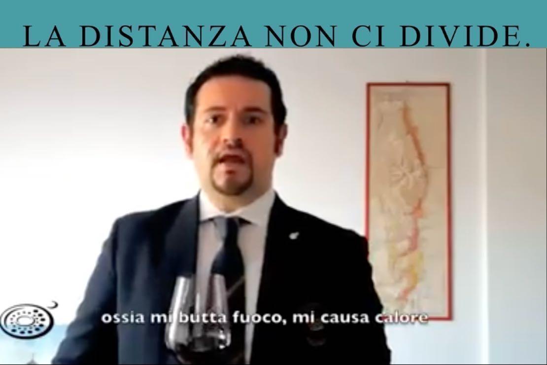 #ladistanzanoncidivide. Il Buttafuoco con Gabriele Merlo