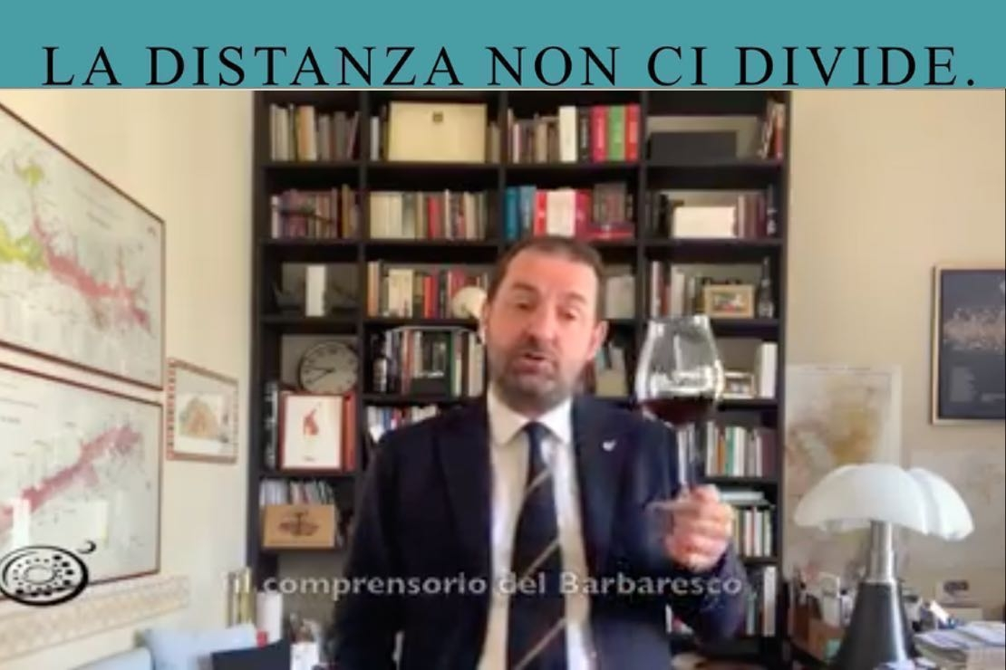 #ladistanzanoncidivide. Il Barbaresco con Fabio Gallo
