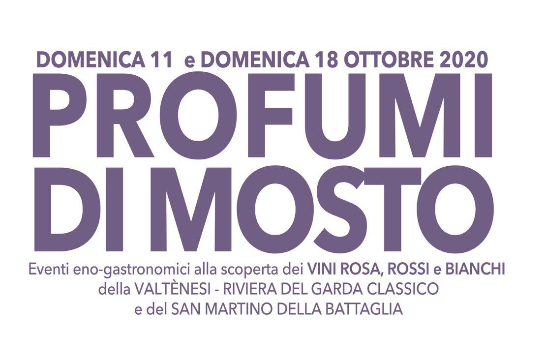 Profumi di Mosto raddoppia: l'11 e 18 ottobre l'edizione 2020 in Valtènesi