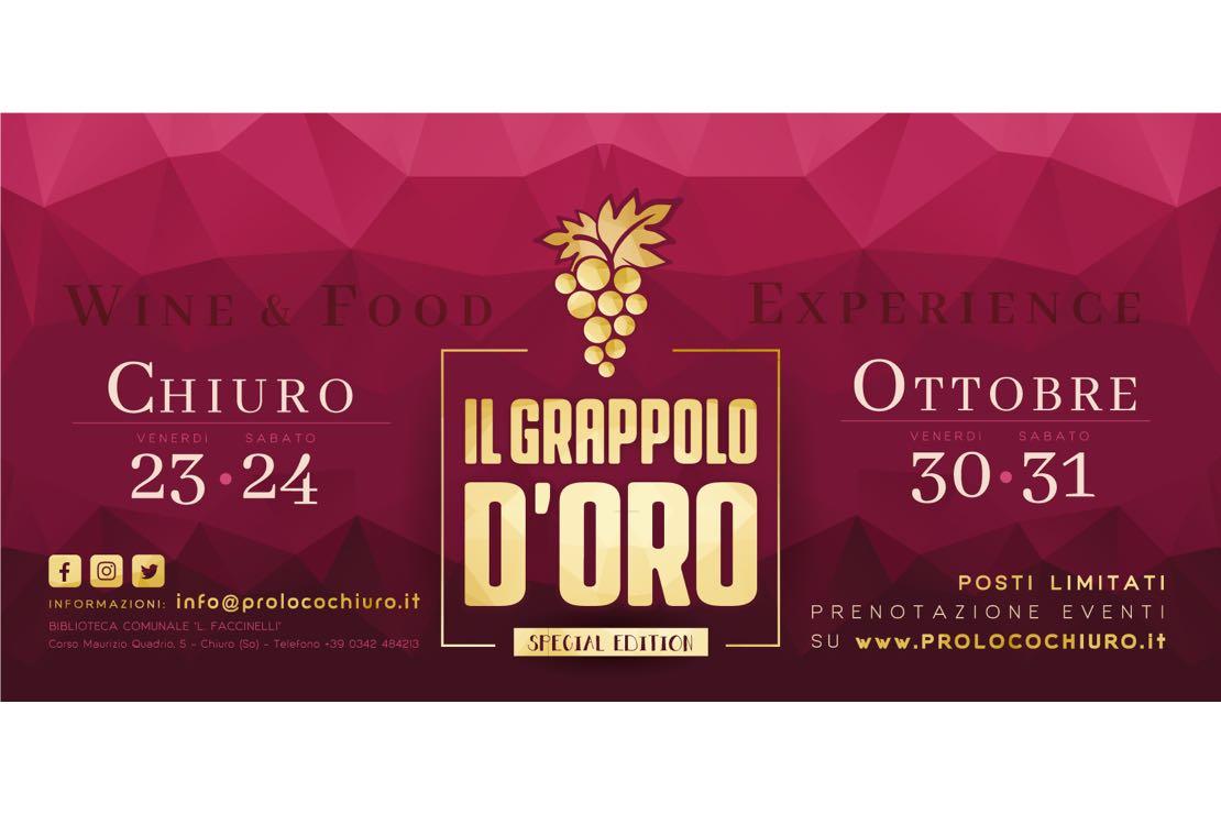 Il Grappolo d'Oro si fa in quattro: a Chiuro la 37ª edizione in versione special