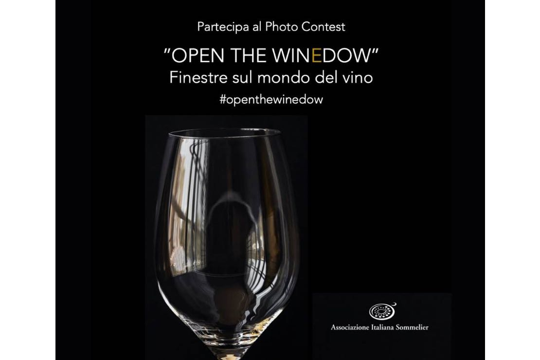 Open the Winedow. Partecipa al contest fotografico di AIS Italia