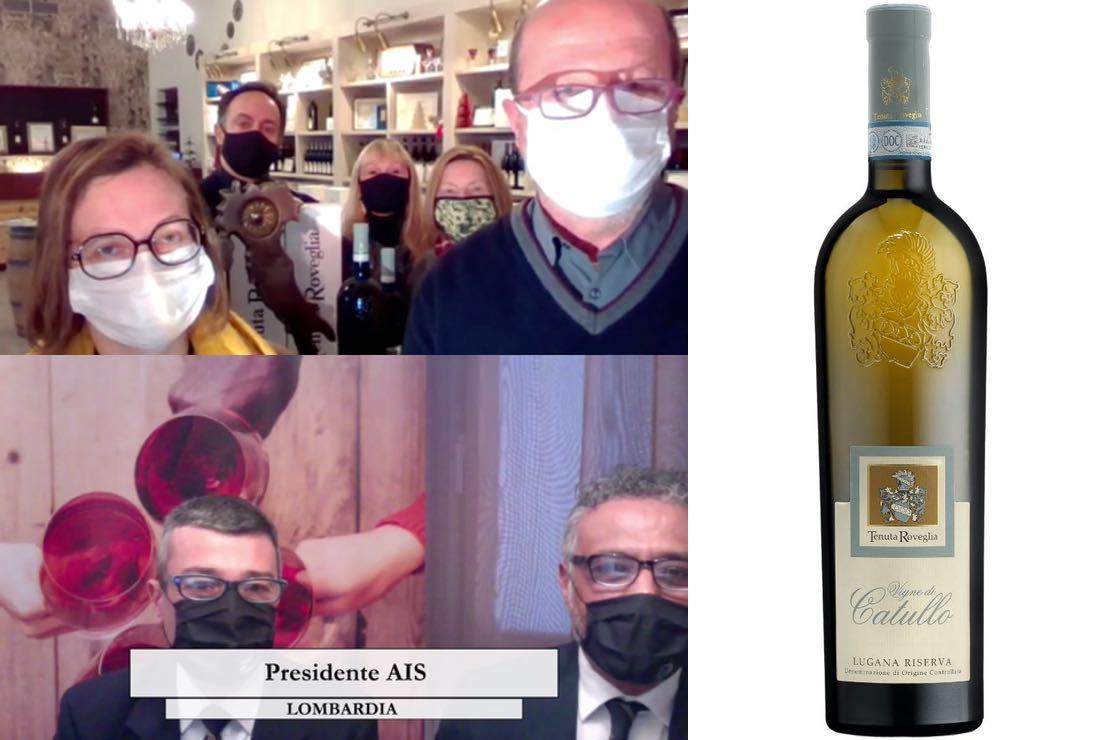 Guida Vitae 2021: il Tastevin della Lombardia al Lugana Vigne di Catullo Riserva di Tenuta Roveglia