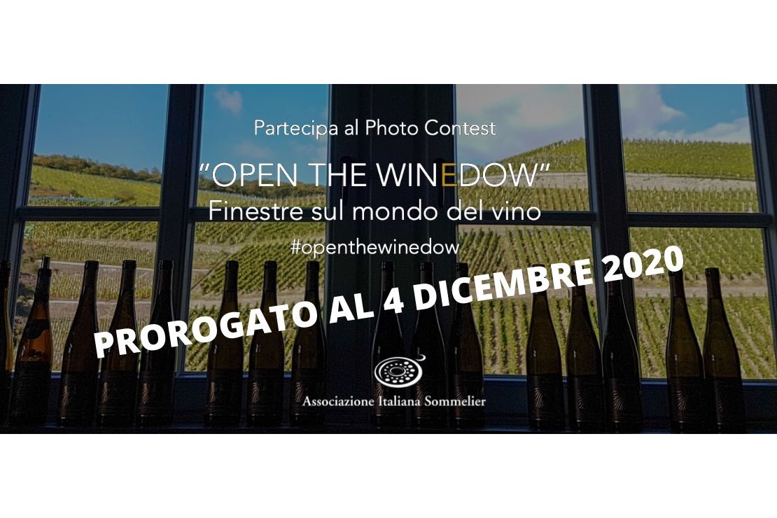 Open the Winedow. Il Photo Contest di AIS Italia prorogato al 4 dicembre