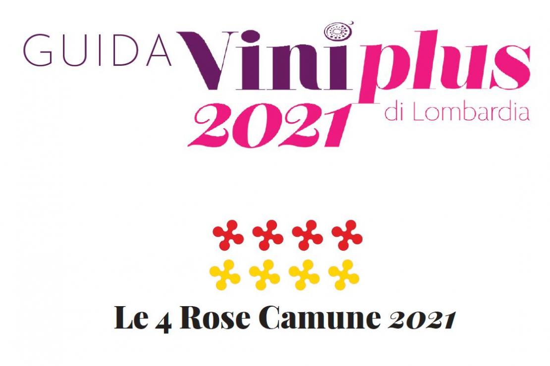 Guida Viniplus 2021 - Le 4 Rose Camune