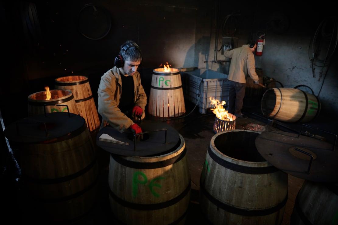 Il vino e il suo rapporto con il legno