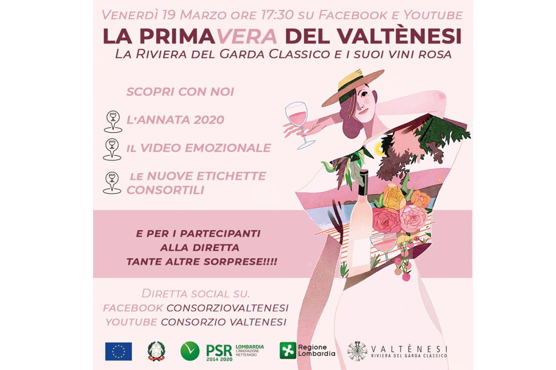 Valtènesi, brindisi in rosa on-line venerdì 19 marzo