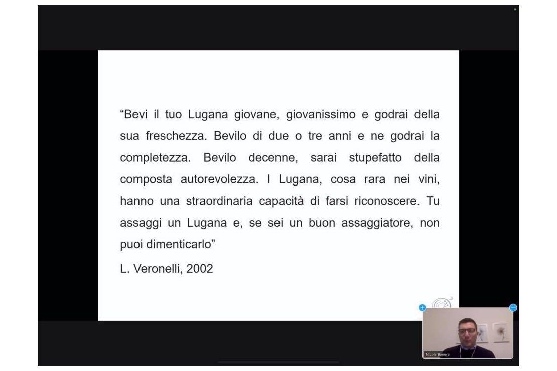 Il Ritrovino, incontri e confronti: il Lugana