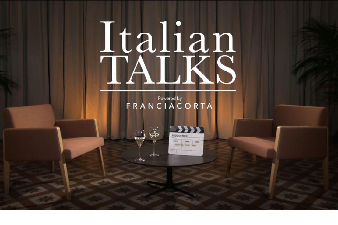 Il Consorzio Franciacorta presenta  Italian Talks