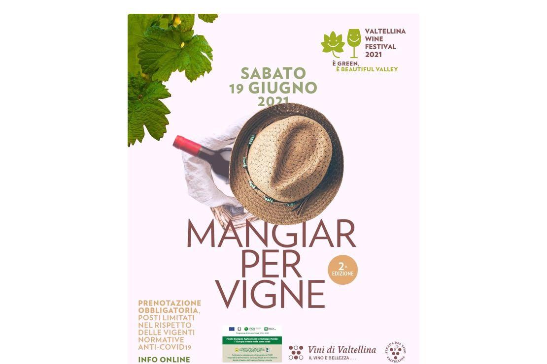 Mangiar per vigne in Valtellina
