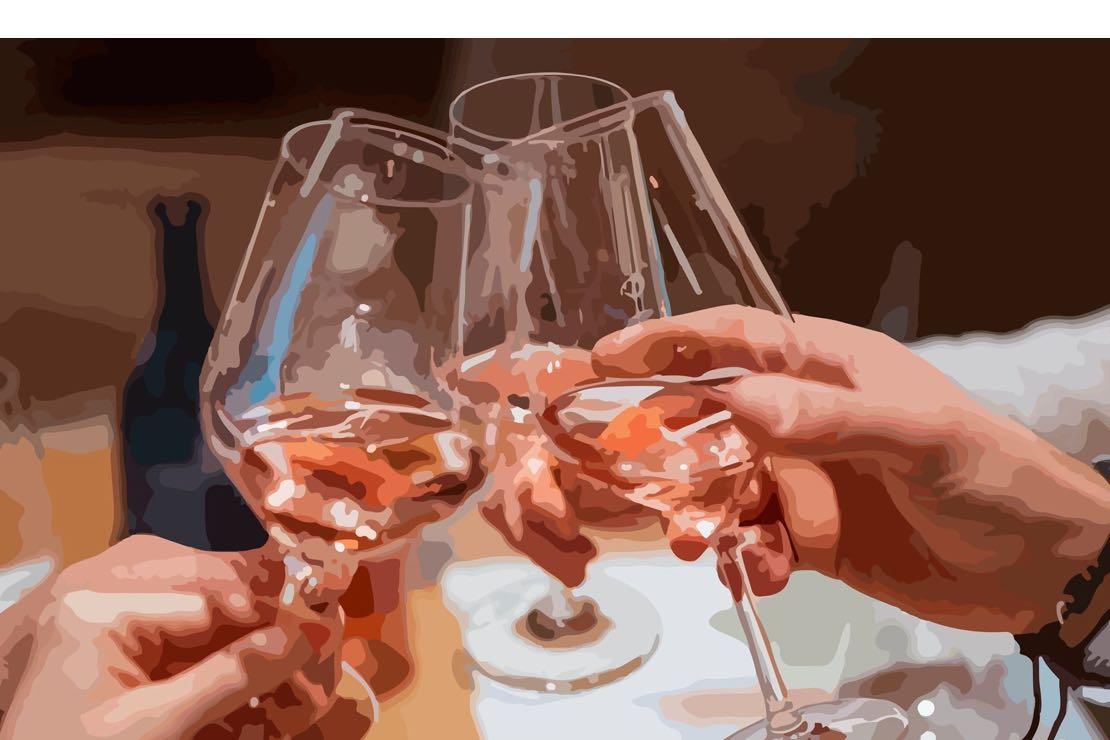 """Il Ritrovino si tinge di rosa con il Chiaretto, """"il vino di una notte"""""""