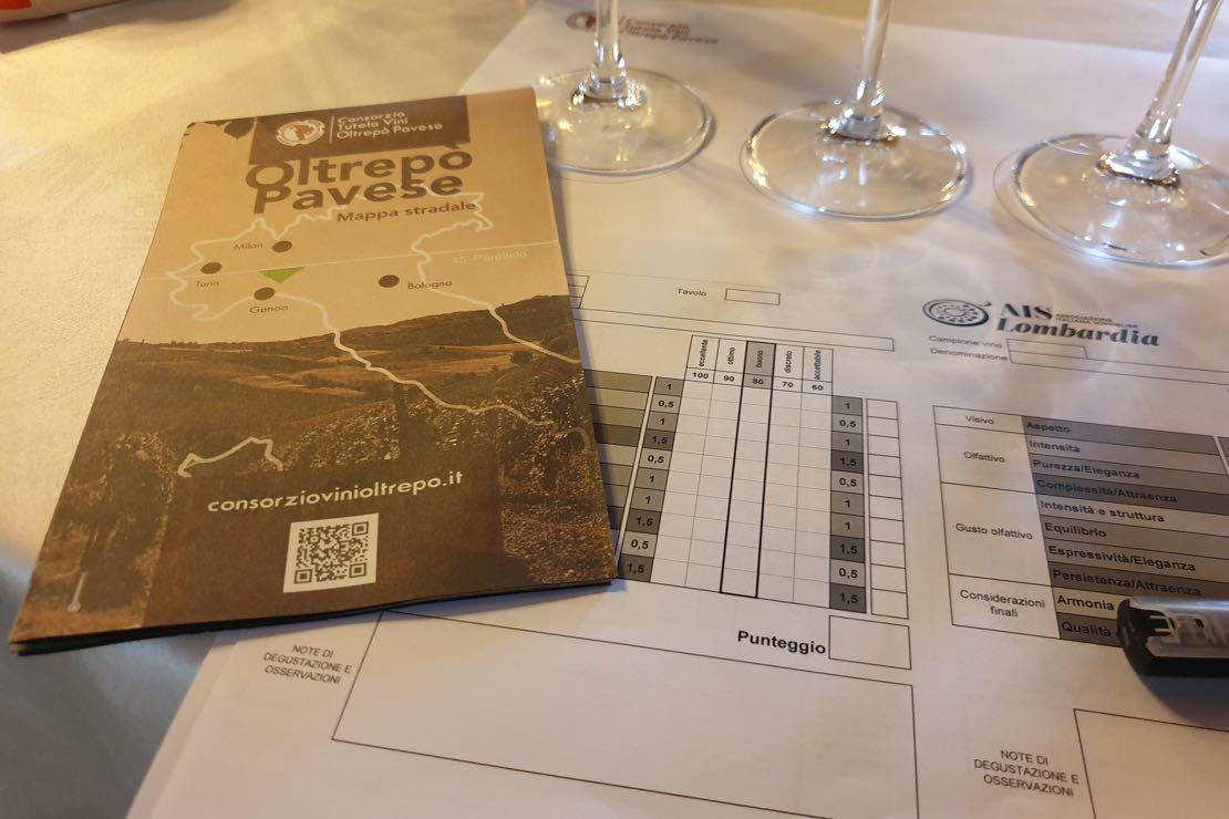 I Degustatori AIS Lombardia incontrano il Consorzio Tutela Vini Oltrepò Pavese