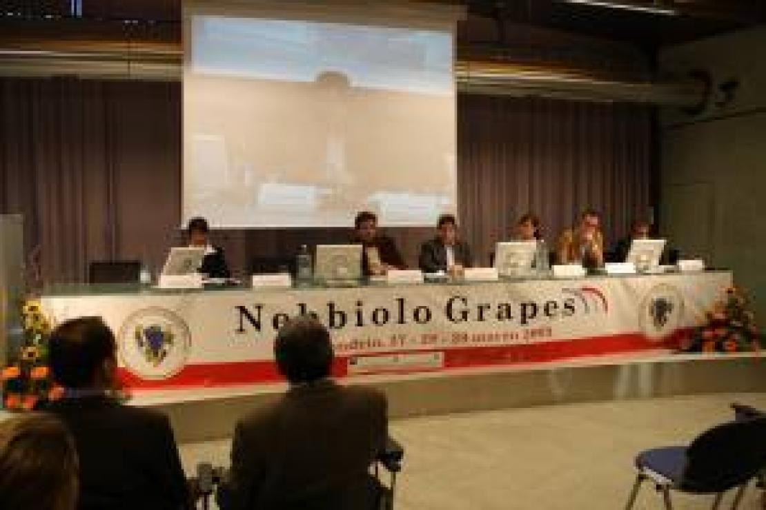 Banco d'assaggio Nebbiolo Grapes. Un autentico successo
