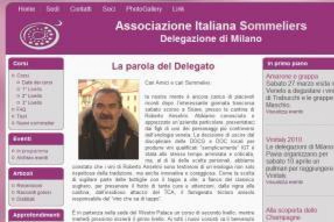 Il sito AIS Milano si rinnova