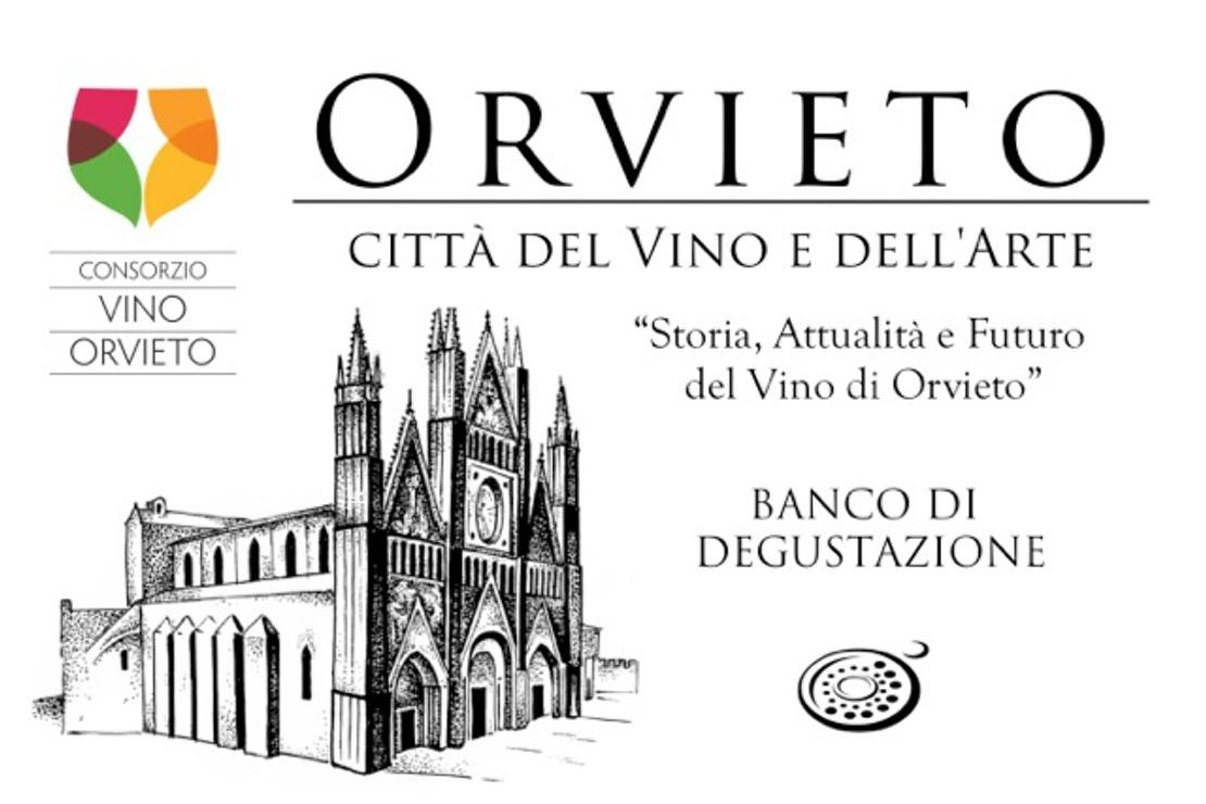 """Banco di degustazione """"Orvieto, Città del Vino e dell'Arte"""