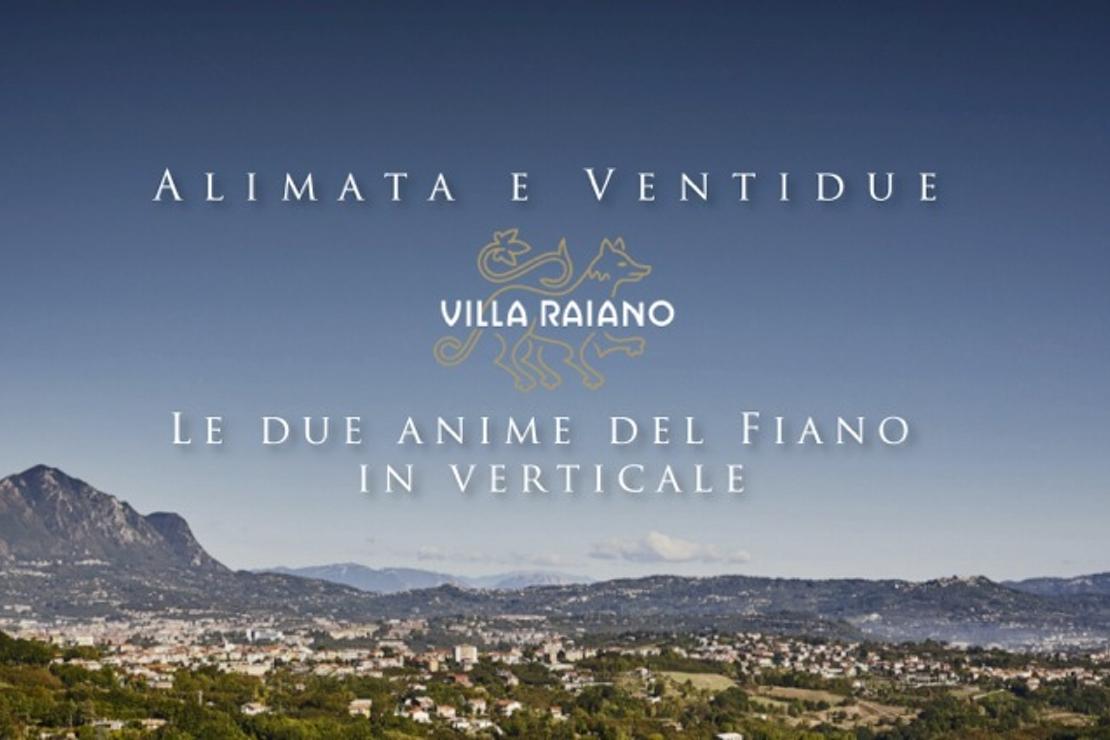 Villa Raiano, le due anime del Fiano in verticale