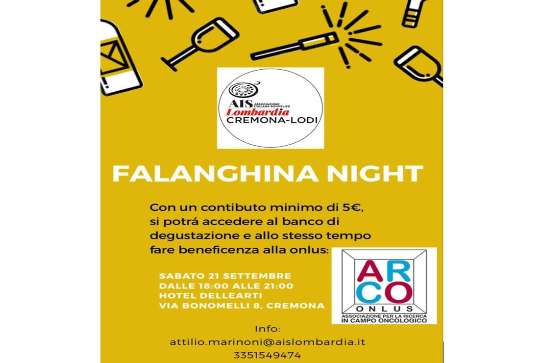 Falanghina. Un grande banco di assaggio a Cremona