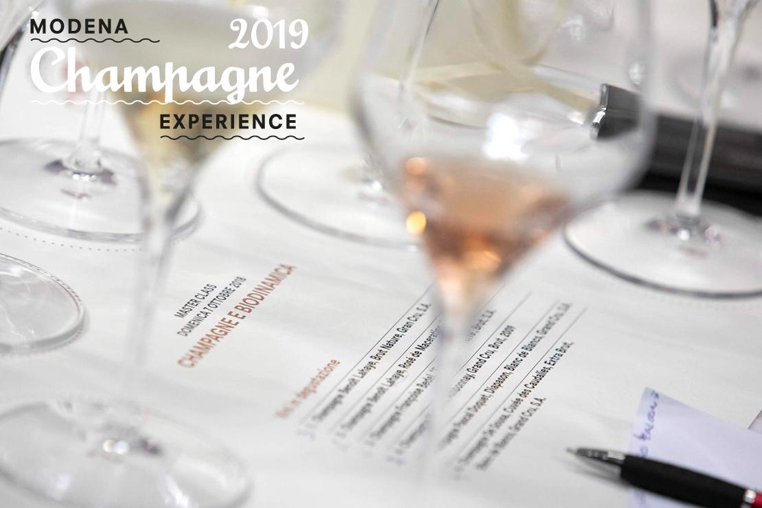 Modena Champagne Experience 2019. Convenzione Soci AIS