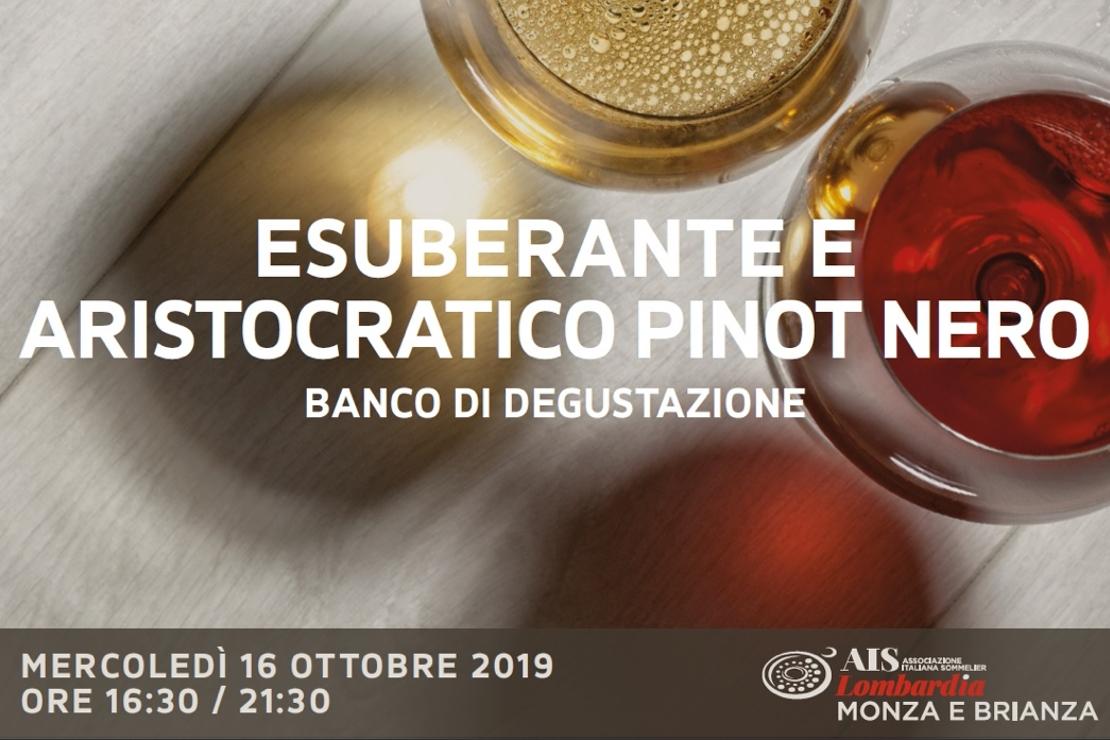 Esuberante e Aristocratico Pinot Nero