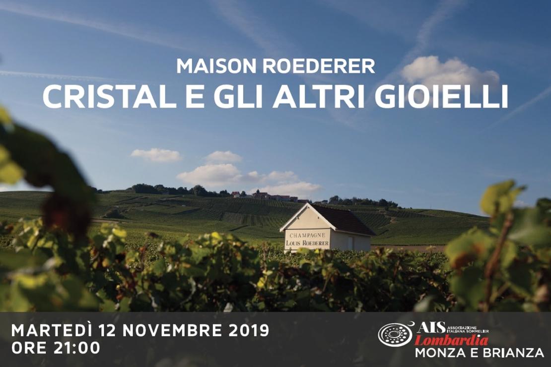 Maison Roederer: Cristal e gli altri Gioielli