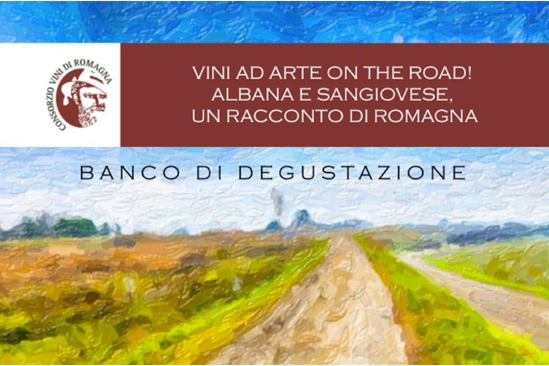 Vini ad arte, on the road! Albana e sangiovese, un racconto di Romagna