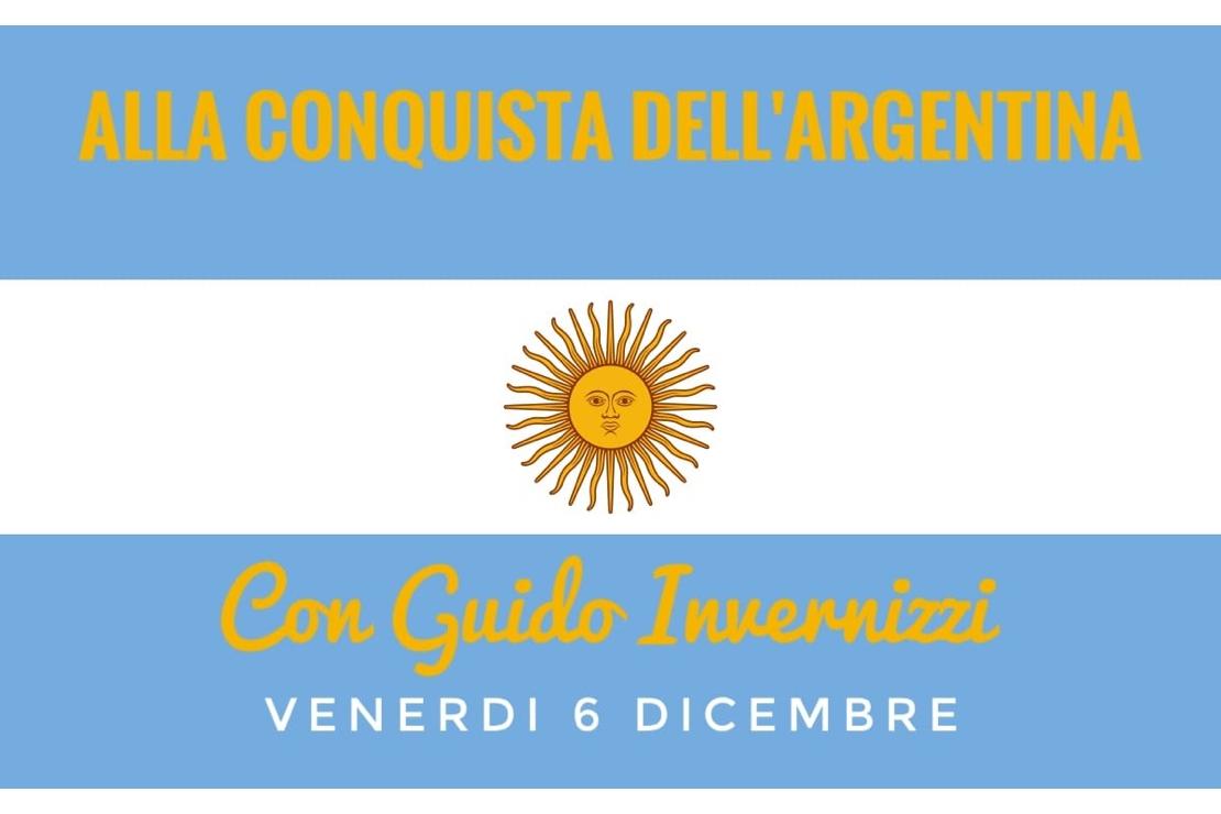 Con Guido in Argentina