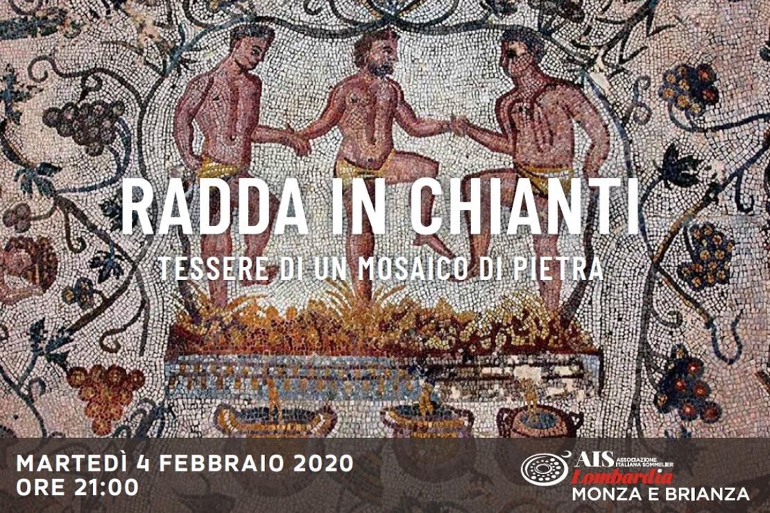 Radda in Chianti. Tessere di un mosaico in pietra