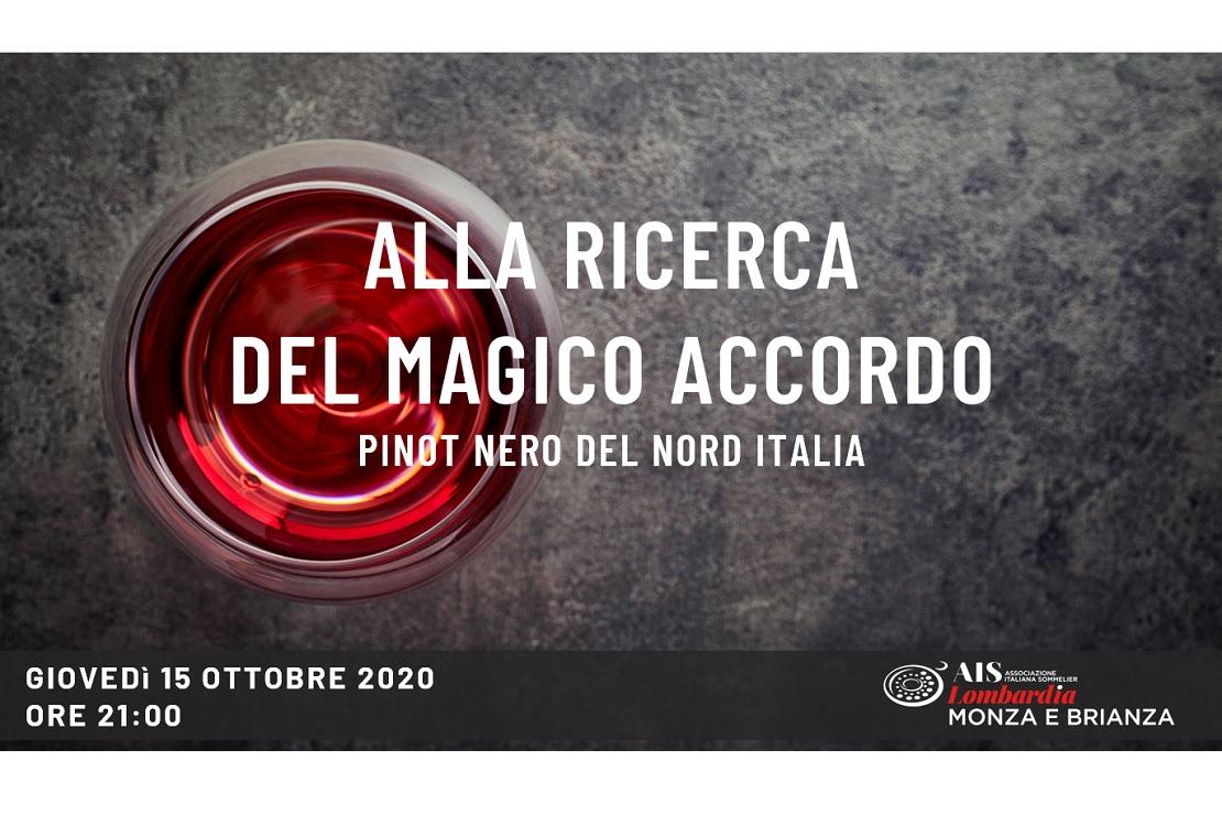 Alla ricerca del Magico Accordo - Pinot nero del Nord Italia