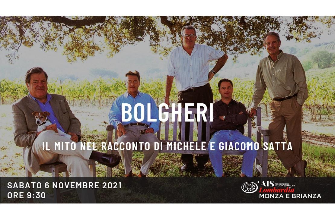 Bolgheri - Il mito nel racconto di Michele e Giacomo Satta
