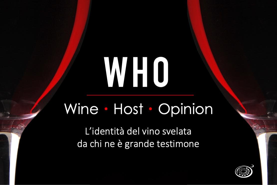 """WHO - Wine Host Opinion. Michele Antonio Fino e """"L'origine vinicola degli schemi di qualità"""""""