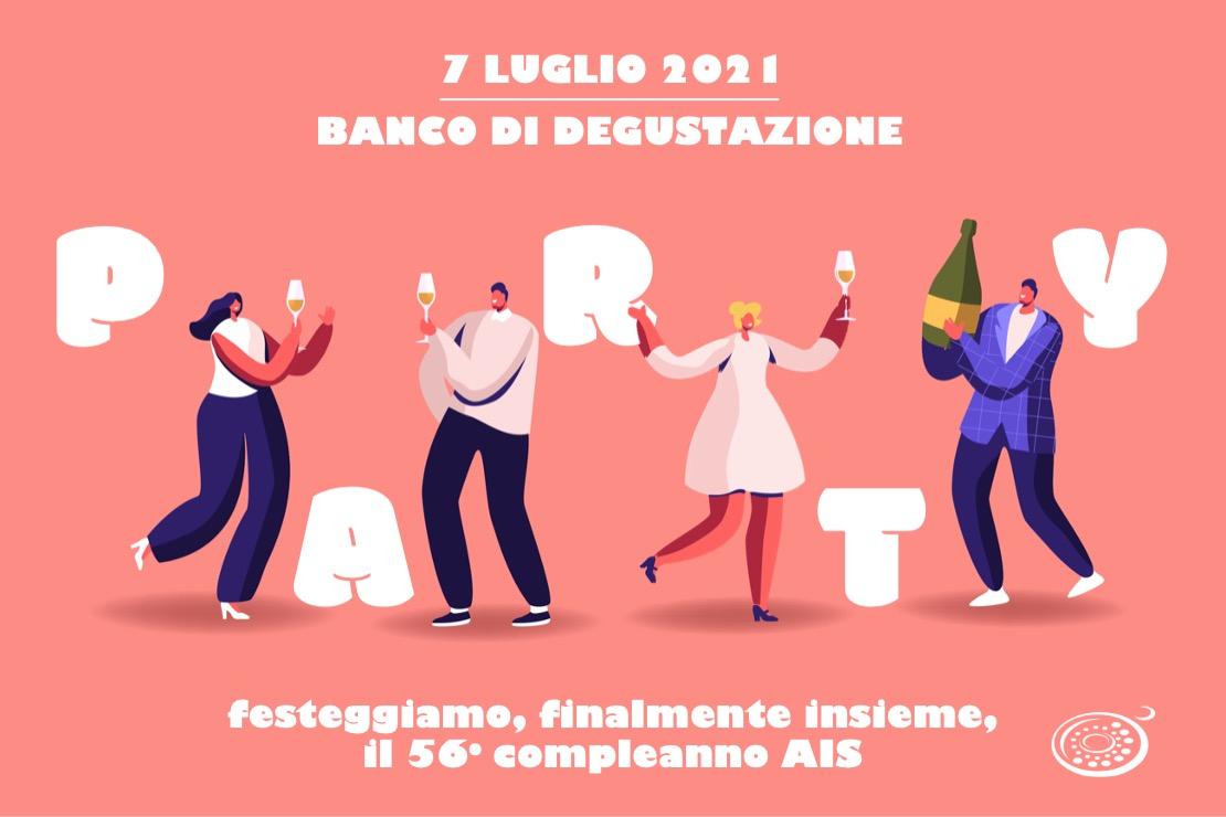 Festeggiamo, finalmente insieme, il 56° compleanno AIS - Banco di degustazione