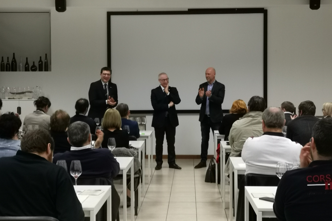 Nicola Bonera, Alessandro Caccia e Manuele Biava
