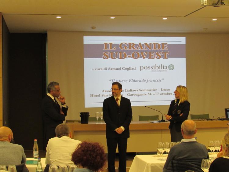 Hosam Eldin, Samuel Cogliati e Rossella Ronzoni