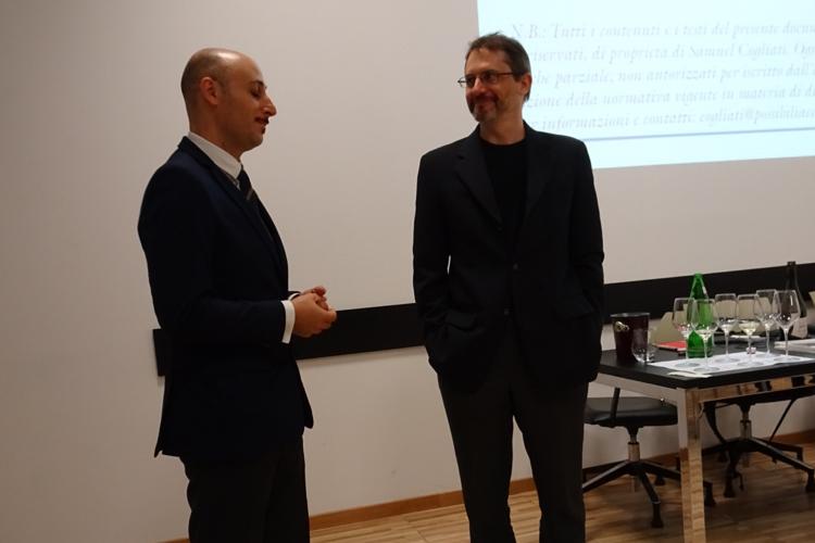 Benedetto Gareri e Samuel Cogliati