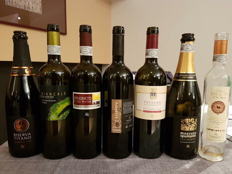 Vini San Marino in degustazione