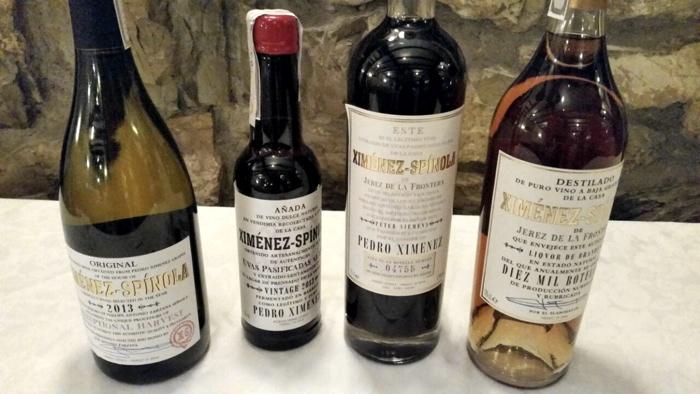 Jerez - Ais Bergamo - Bottiglie Ximenez Spinola