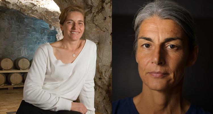 Marisa Cuomo ed Elisabetta Foradori