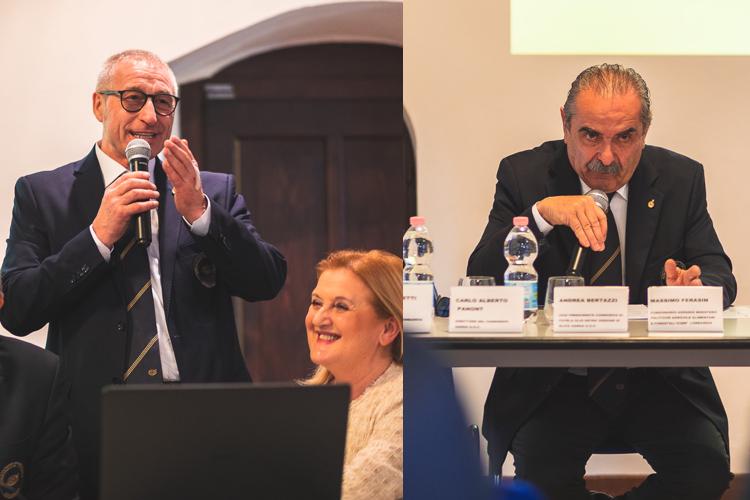 Alessandro Caccia e Fiorenzo Detti