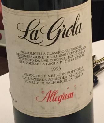Allegrini La Grola 1993