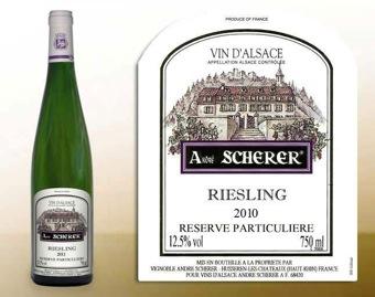 Alsazia - André Scherer - Riesling Reserve Particuliere