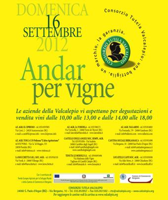 Andar per Vigne 2012