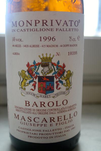 Barolo Monprivato 1996