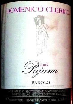 Barolo Pajana 2005
