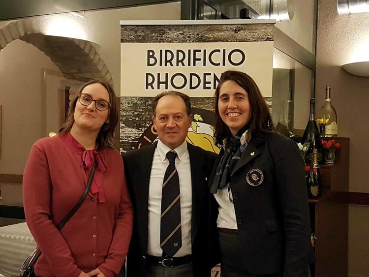 Da sinistra: Monica Varisco, Domenico Adorato, Elisa Cremonesi