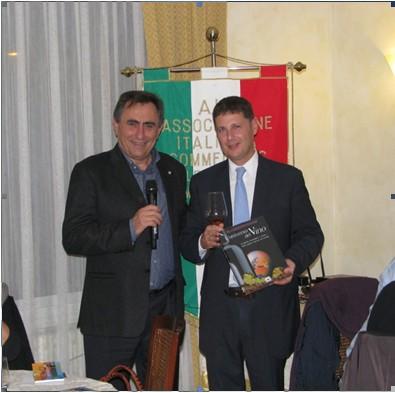 Luigi Bortolotti e Baldo Palermo